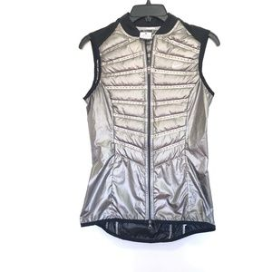 Nike Running Women's Reflective Silver Gray Vest